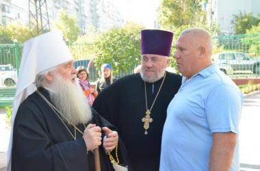 12 октября Литургия в Казанском соборе