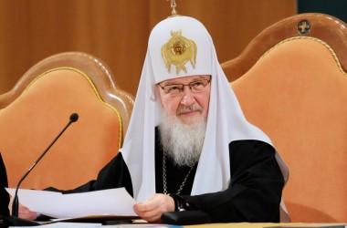 Выступление Святейшего Патриарха Кирилла на открытии V Всецерковного съезда епархиальных миссионеров