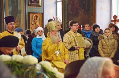 14 декабря литургия в Казанском соборе