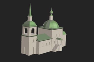 Трехмерные модели Царицынских зданий теперь можно посмотреть в интернете.