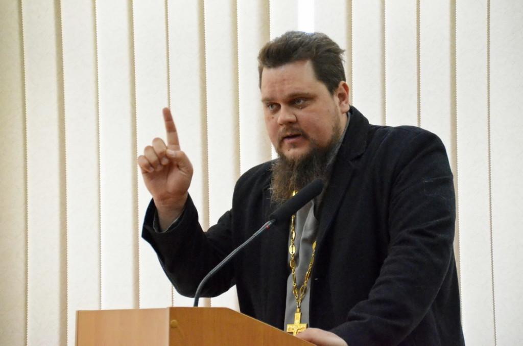 руководитель отдела тюремного попечения иерей Андрей Горячев
