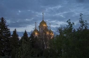 Митрополит Ташкентский и Узбекистанский  Викентий посетил главную высоту России