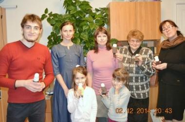 Занятие в мастерской-студии «Конкордия» 2 декабря 2014года — шьем куклу для вертепа.