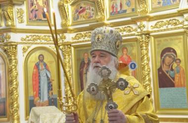 Литургия в Казанском соборе 30 ноября 2014 г.