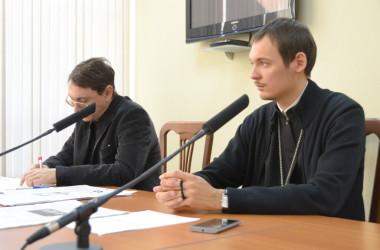Состоялась встреча руководителей епархиальных отделов с представителями СМИ