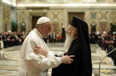 Римский Папа Франциск в гостях у Константинопольского Патриарха