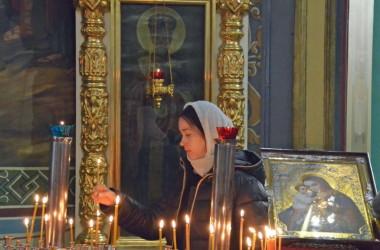 4 января Божественная литургия в Казанском соборе
