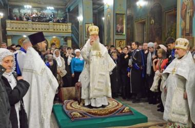 Рождественская Литургия в Казанском соборе. 7 января 2015 года.