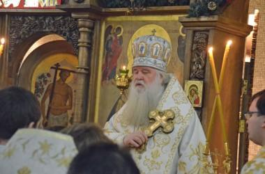 9 января 2015г. Божественная Литургия в храме святого преподобного Сергия Радонежского