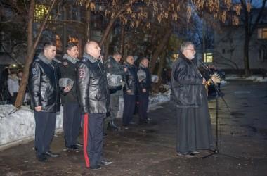 Протоиерей Георгий Лазарев посетил церемонию проводов отряда МВД в командировку на Северный Кавказ