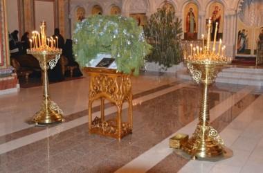 Празднование Рождества Христова в Усть-Медведицком Спасо-Преображенском женском монастыре