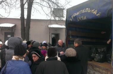 1,5 тысячи человек получили продуктовые наборы от Церкви в Луганской епархии