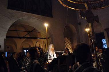 Проповедь Святейшего Патриарха Кирилла в среду первой седмицы Великого поста