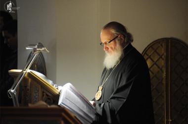 Проповедь Святейшего Патриарха Кирилла после великого повечерия во вторник первой седмицы Великого поста