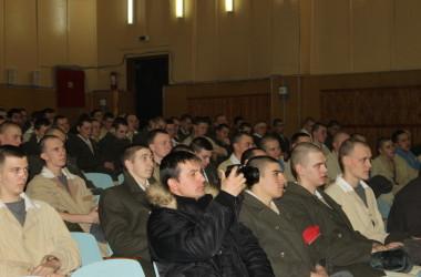 Отдел армейского и полицейского душепопечения поздравил военнослужащих с Днем Защитника Отечества