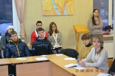Второй день работы проекта «Школа молодежного православного актива»