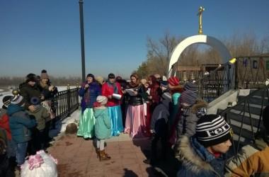 22 февраля приход святого праведного Феодора Ушакова организовал масленичные гуляния