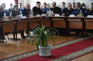 Руководитель епархиального отдела по делам казачества принял участие в работе круглого стола «История земель Российских»