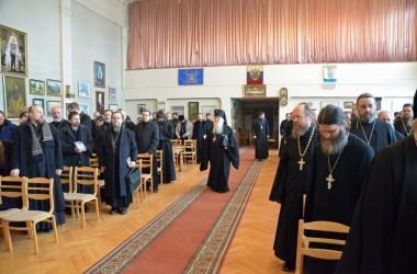 Собрание духовенства Волгоградской епархии. 3 марта 2015 года.