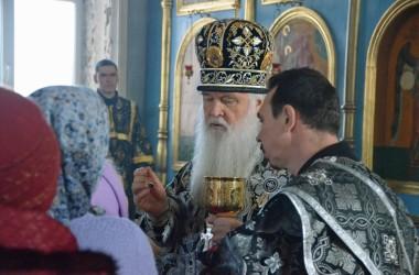 Литургия Преждеосвященных Даров в храме святой великомученицы Параскевы. 20 марта 2015 года.