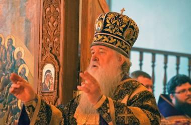Божественная Литургия в Свято-Духовом монастыре Волгоград. 28 февраля 2015 года.