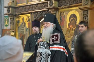 Литургия Преждеосвященных Даров в храме святого преподобного Сергия Радонежского. 4 марта 2015 года.
