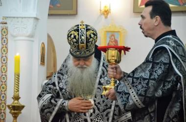 Литургия Преждеосвященных Даров в храме святого равноапостольного князя Владимира. 6 марта 2015 года.