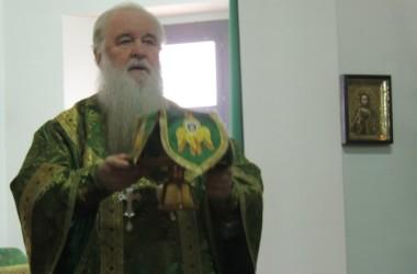 Божественная литургия в храме святого праведного Иоанна Кронштадтского. 14 марта 2015 года.