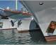 Протоирей Георгий Лазарев благословил участников сплава по Волге «В поход за флотским здоровьем»