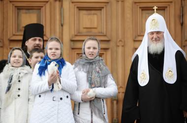 Проповедь Святейшего Патриарха Кирилла в праздник Благовещения Пресвятой Богородицы