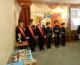 Казаки «Благовещенской станицы» храма святого праведного Иоанна Кронштадтского приняли участие в Эстафете «Победа-70» (23 апреля 2015 года).