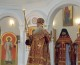 Божественная литургия в храме святого равноапостольного князя Владимира (19 апреля 2015 года).