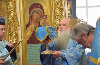 Божественная литургия в праздник Благовещения Пресвятой Богородицы (7 апреля 2015 года)