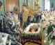Вечерня с выносном Плащаницы Спасителя в Казанском соборе (10 апреля 2015 года).