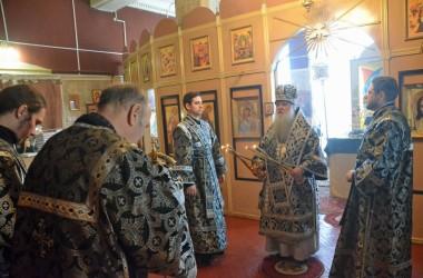 Литургия Преждеосвященных Даров (8 апреля 2015 года).