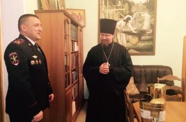 Свято-Сергиевскому храму возвращен украденный ящик для пожертвований