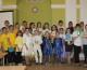 Праздник «Мы рады встрече с Вами», организованный Иоанно-Кронштадтским храмом в Волгоградском областном геронтологическом центре (21 апреля 2015 года).