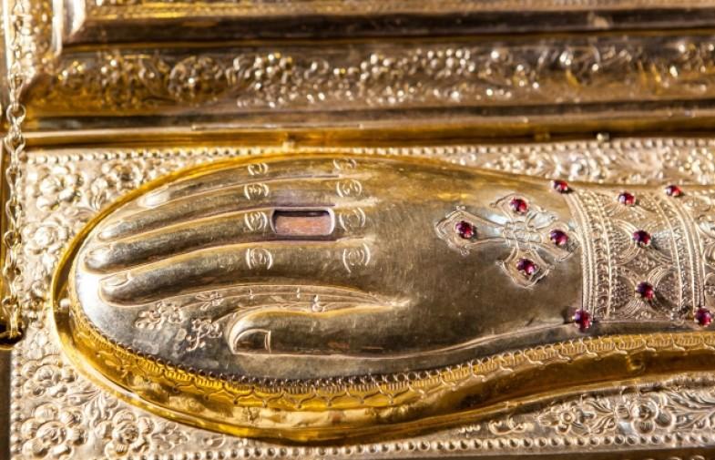 Десница святого великомученика Георгия Победоносца прибудет в Волгоград 16 мая