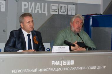 Прошла пресс-конференция, посвященная прибытию в Волгоград десницы святого Георгия Победоносца