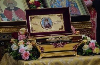 Мощи святого равноапостольного князя Владимира отправлены в города России и Белоруссии для поклонения верующих