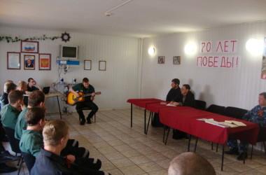 Пресс-секретарь Волгоградской епархии рассказал заключенным об истории храмов города