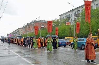 9 мая состоялся крестный ход, посвященный 70-летию Великой Победы.
