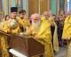 Божественная литургия в Казанском соборе в день праздника Вознесения Господня