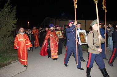 Крестный ход честь 70-летия Великой Победы в Волгограде (2 мая 2015 года)