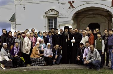 Состоялась поездка миссионерская поездка в Свято-Успенский Вышинский монастырь