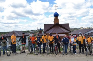 Велоэкскурсия по храмам, посвященная 1000-летию преставления святого равноапостольного князя Владимира