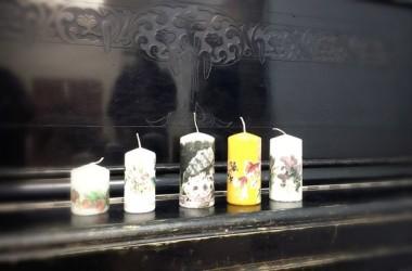 Мастерская – студия «Конкордия» приглашает на занятие по декупажу свечей