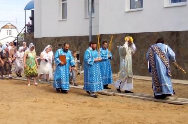 В Калачевской епархии состоялось освящение храма в иконы Божией Матери «Всех скорбящих Радость»