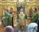 Божественная литургия в Казанском соборе в день Святой Троицы