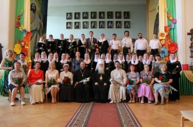 В Царицынском православном университете прошел выпускной экзамен по академическому дирижированию